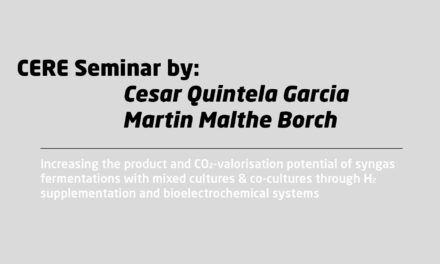 """""""Increasing the product and CO2-valorisation potential of syngas fermentations with mixed cultures & co-cultures through H2 supplementation and bioelectrochemical systems"""" by Cesar Quintela Garcia and Martin Malthe Borch"""