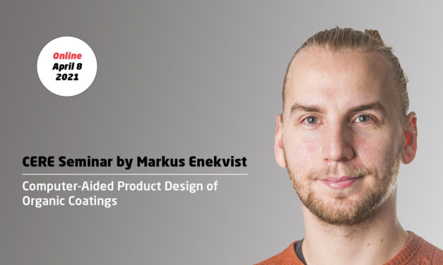 Computer-Aided Product Design of Organic Coatings by Markus Enekvist