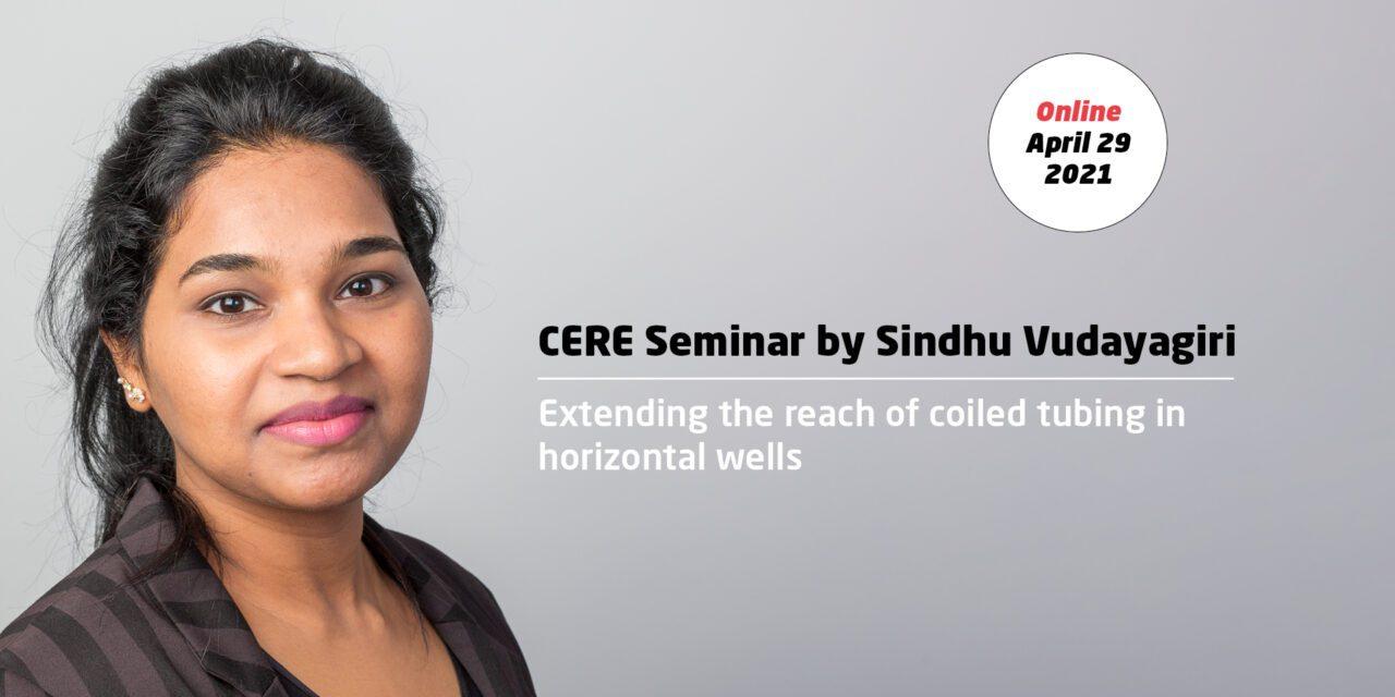 Extending the reach of coiled tubing in horizontal wells by Sindhu Vudayagiri
