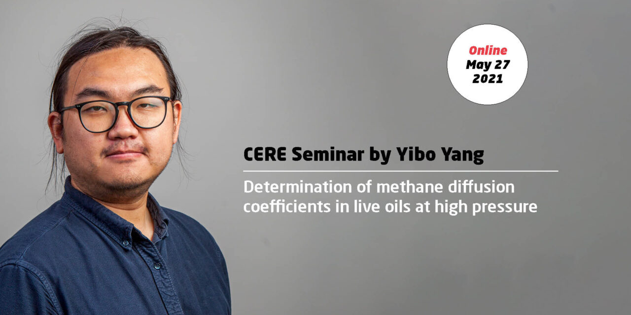 Determination of methane diffusion coefficients in live oils at high pressure by Yibo Yang