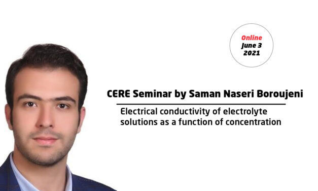 Electrical conductivity of electrolyte solutions as a function of concentration by Saman Naseri Boroujeni